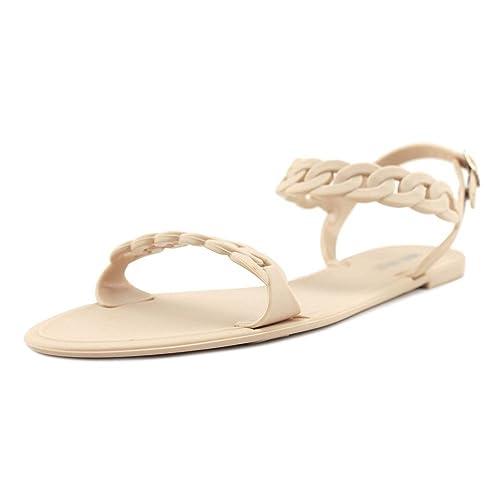 Nine West Womens onfleek Open Toe Casual Sport Sandals nude Size 100