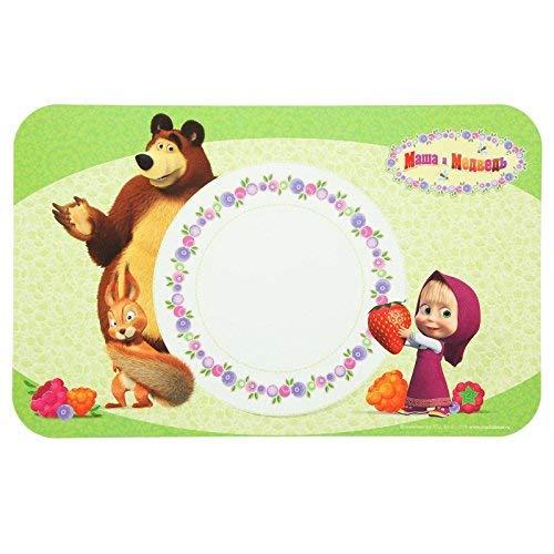 1 piece substitute napkin Masha and bear children's lunch (16.1 inch)]()