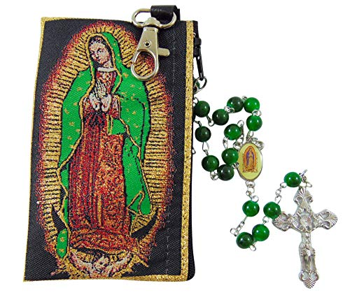 Westman Works Our Lady of Guadalupe Gift Set with Rosary & Pouch