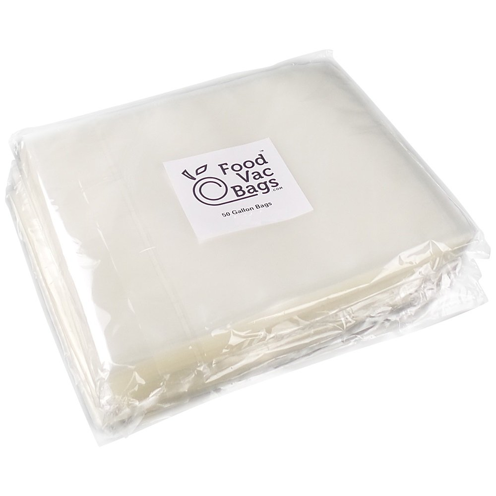 200 FoodVacBags 11'' X 16'' Vacuum Sealer Bags - 4 mil commercial grade Gallon Bags for all vacuum sealers by FoodVacBags