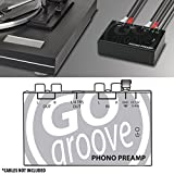 GOgroove Mini Phono Turntable Preamp Preamplifier