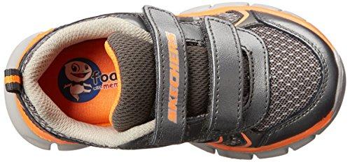 Skechers SynergyMini Sprint - zapatilla deportiva de material sintético niño Plata - Silber (GUOR)