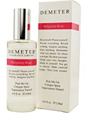 Demeter Bulgarian Rose Cologne Spray for Women, 120ml