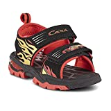 Disney Toddler Boys' Cars Lightning McQueen Sport Sandal (7) Red