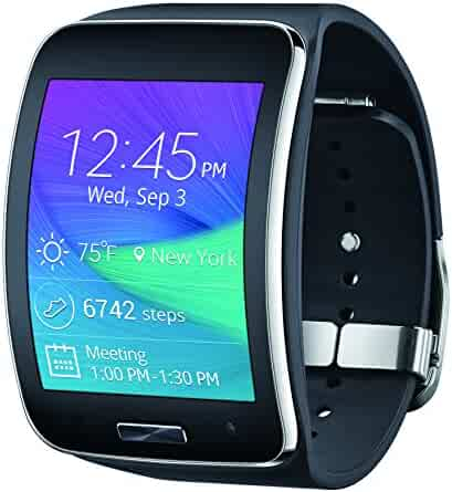 Samsung Gear S Smartwatch, Black 4GB (AT&T)