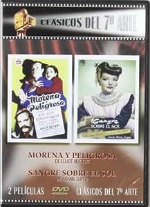 Morena Y Peligrosa + Sangre Sobre El Sol [DVD]
