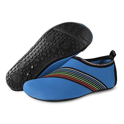 Skin for Socks Men's Pool JIASUQI Aqua Bevel Quick Exercise Water Blue Dry Shoes Yoga Swim Women's Beach Barefoot Surf Azfqvz8