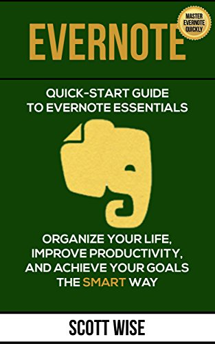 EVERNOTE Essentials Productivity Management beginners ebook product image