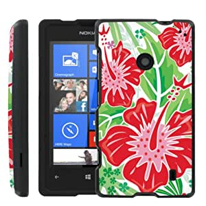 [ManiaGear] Design Graphic Image Shell Cover Hard Case (Tropical ) for Nokia Lumia 635
