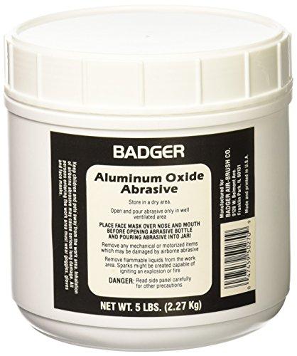 (Badger Aluminum Oxide Abrasive 5 Lbs. Net. Weight-50-270)