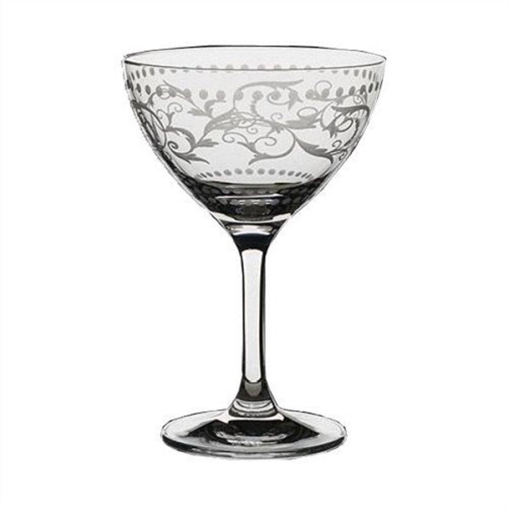 Steelite Vintage Dots 8 Oz Martini / Cocktail Glass