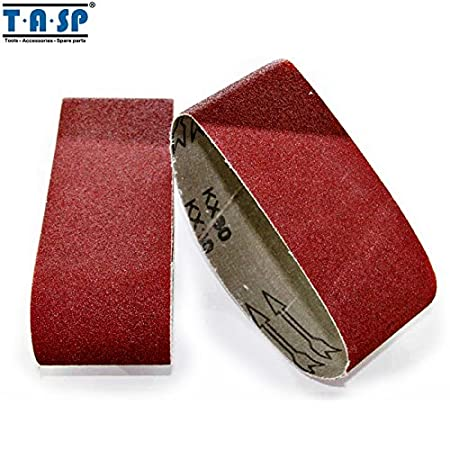 Tools New Fashion Tasp 5pcs 3 X 18 Belt Sander Sandpaper 75x457mm Sanding Belt Aluminium Oxide Abrasive Woodworking Tools Msb75457