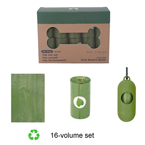 liuxi9836 Bolsas De Caca Biodegradables con Dispensador ...