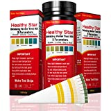 Drinking Water Test Strips Water Test Kit 9 in 1, 150ct,for Drinking Water, Aquarium,Pool & Spa;Best Kit for Accurate Water Quality Testing,Instant Results -PH - Free Chlorine - Total Hardness etc.