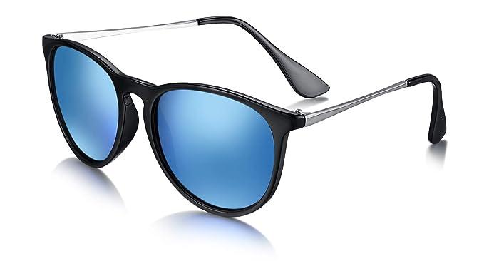 WHCREAT Gafas de Sol Polarizadas para Mujer UV400 Protección Moda Gafas