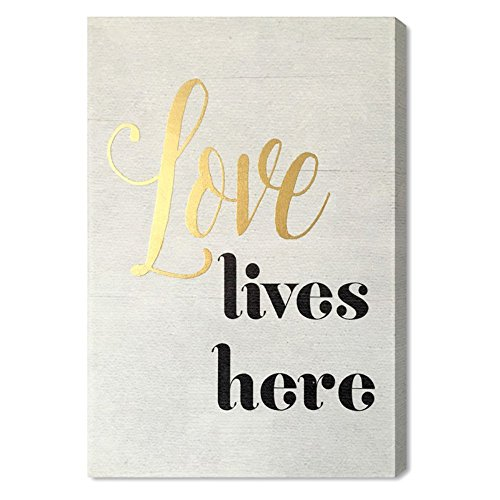 Wynwood Studio Love Lives Here Art Plaque, 10