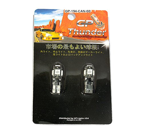 Canbus No Error Blue Car Led Parking Eyelid Driving 2825 168 192 T10 W5W 5-5050-SMD 2PCS