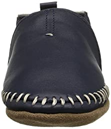 Robeez Classic Moccasin Crib Shoe (Infant), Navy, 12-18 Months M US Infant