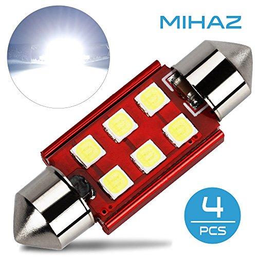36mm Car Light Bulbs Festoon Kit, Mihaz Led Interior Lighting Tacoma Interior Led Lights 1.5