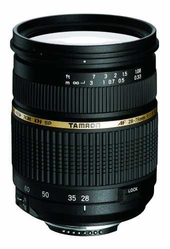 Tamron AF 28-75mm f/2.8 SP XR Di LD Aspherical (IF) for Nikon (Model A09NII) - International Version (No Warranty) by Tamron