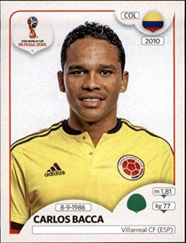 2018 Panini World Cup Stickers Russia #648 Carlos Bacca Colombia Soccer Sticker