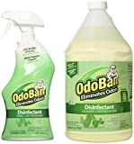 OdoBan Odor Disinfectant, Eucalyptus (1 Gallon Concentrate / 32 oz. Ready-to-Use)