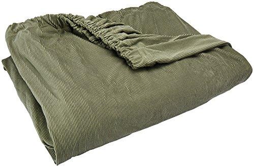(SureFit Stretch Stripe Separate Seat T-Cushion Sofa Slipcover -)