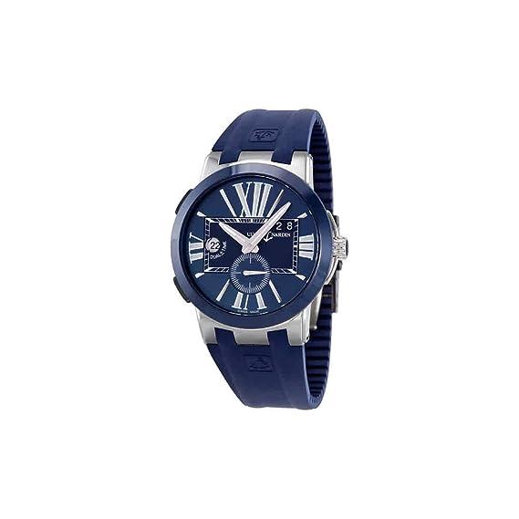 Ulysse Nardin Ejecutivo dual tiempo reloj automático para hombres – 243 – 00 ...