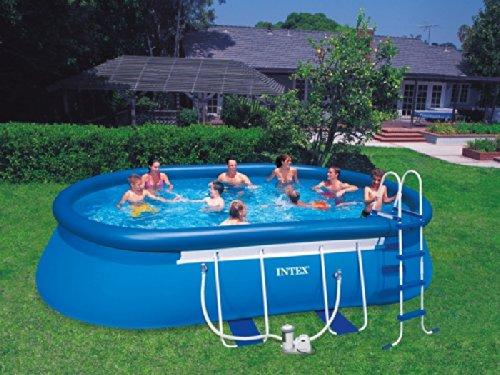 oval frame pool 610x366x122 schwimmbad und saunen. Black Bedroom Furniture Sets. Home Design Ideas