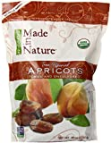 Made in Nature Organic and Unsulfured Tree Ripened Dried Apricots in Resealable Bag 3 Lbs or 48 Oz