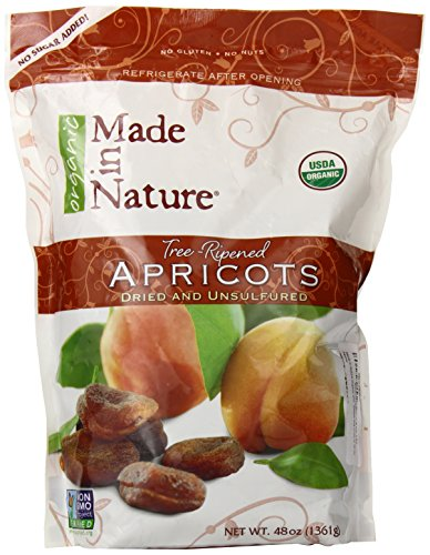 Made in Nature Organic Super Snacks, Apricots, 48 Ounce