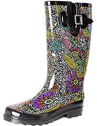 Women's Waterproof Rubber Rain Boot