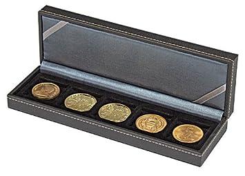 Lindner 2362-5 Estuche monedas NERA S com 5 compartimentos ...