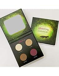 GlamFox Natural Vegan Eye Shadow Palette, Enchanted Fox (Warm Earthy Tones), 0.2 Pound