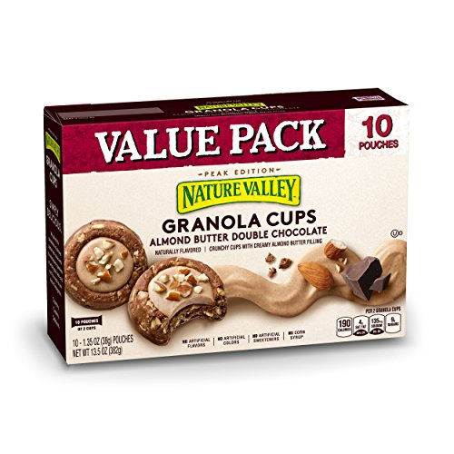 Nature Valley Almond Butter Double Chocolate Granola Cups, 13.5 oz