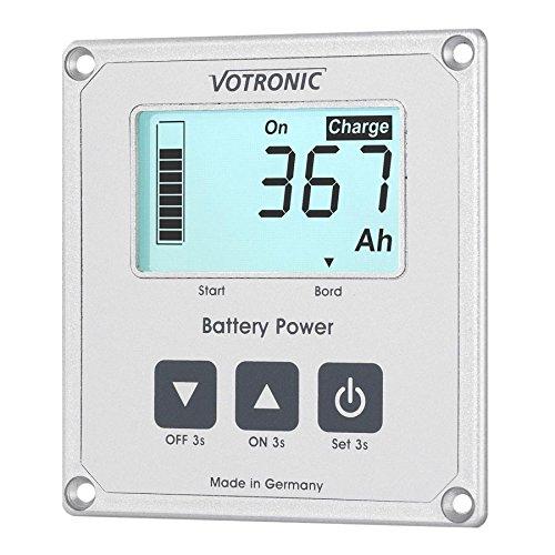 votronic 1266/LCD della batteria del computer 200/S Smart di shunt e dimensioni Band