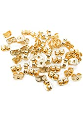 Fly Shop Gold Filled Earring Backs (5 Pairs) Ear Nuts