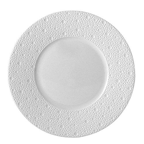 Bernardaud limoges ecume white (blanc) salad plate