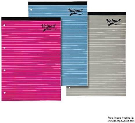 Pukka Pads – Cuaderno (A4, 4 agujeros, rayado y margen Unipad ...