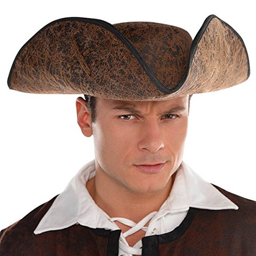 amscan Pirate | Brown Ahoy Matey Hat
