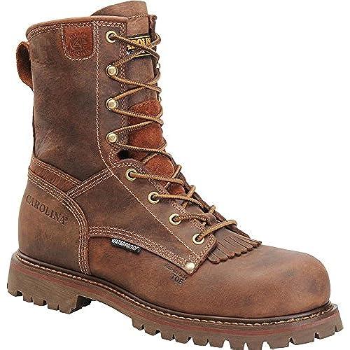 """Carolina Mens 8"""" Waterproof Composite Toe Work Boot"""