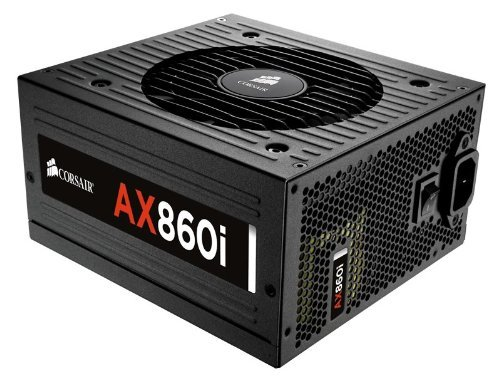CORSAIR AXi Series, AX860i, 860 Watt, 80+ Platinum , Fully Modular - Digital Power Supply (Renewed)