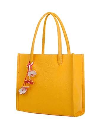 3a14c1cd02378 TEBAISE Handtaschen Damen Umhängetasche Taschen Handtasche Shopper Damen  Handtaschen Groß Taschen Faux Leder Moderne Handtasche Gross Schultertasche  Frauen ...