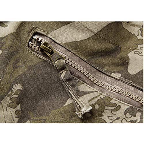 Loisirs Vintage Saoye Avec Poche Hommes Long Multi Vêtements Welle Tarnung Plein Couleurs Air Sports Fashion Automne Cargo En Pants p8Bxw0afBq