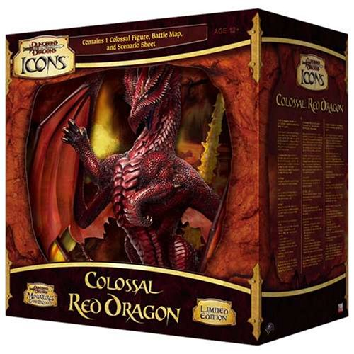 Colossal Red Dragon (Dungeons & Dragons Icons): Miniatures