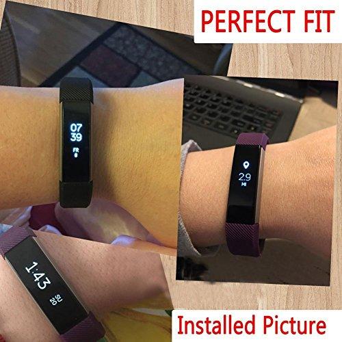 Vendeur Britannique. Films de protection d'écran invisibles pour Fitbit Alta–Protection de qualité militaire/Tracker non inclus (Lot de 5)