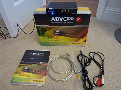 Canopus ADVC-100 Advanced Digital Video Converter, Analog / (Analog Video Firewire Converter)