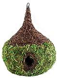 Super Moss (56050) Raindrop Woven Birdhouse Medium, 9.5″ by 10.5″, Fresh Green Review