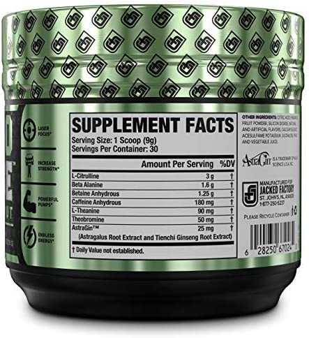NITROSURGE Pre Workout Supplement - Endless Energy, Instant Strength Gains, Clear Focus, Intense Pumps - Nitric Oxide Booster Powerful Preworkout Energy Powder - 30 Servings, Cherry Limeade