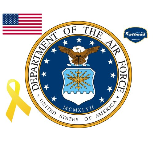 UPC 843767004559, Fathead Air Force Insignia Wall Decal